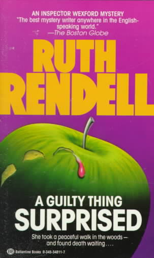 A Guilty Thing Surprised By Rendell, Ruth